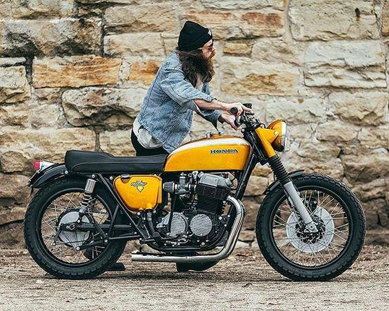 Honda brat style                                                                                                                                                     More: