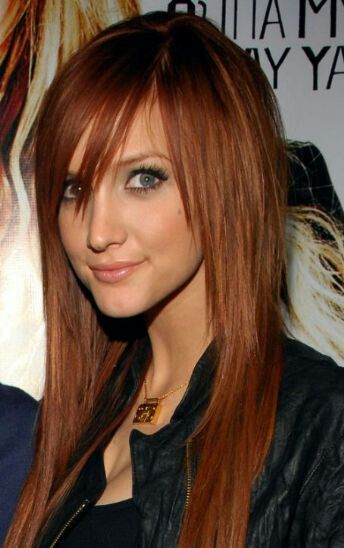 Nice fringe, nice layers, nice length and colour :)