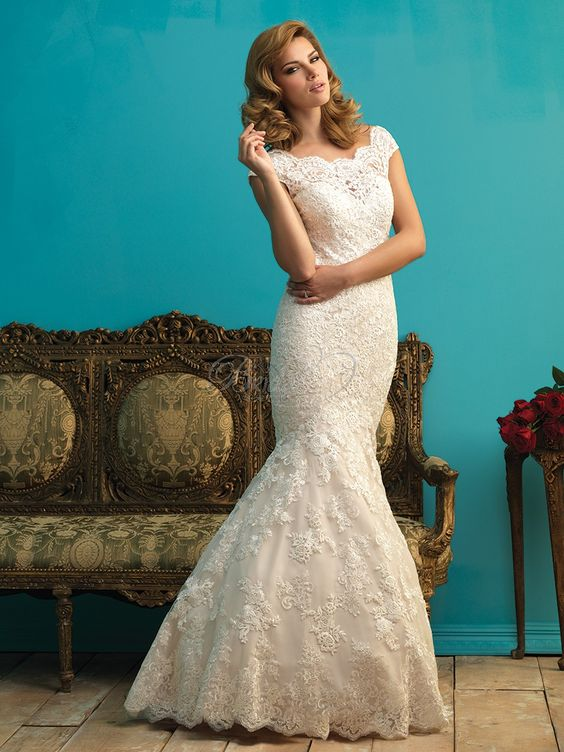 RK Bridal - Allure Bridal Fall 2015 - Style 9271