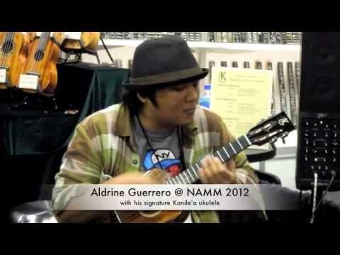 Aldrine Guerrero & his signature Kanile'a