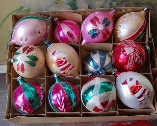 Vintage Clothing Love: Vintage Christmas Ornaments