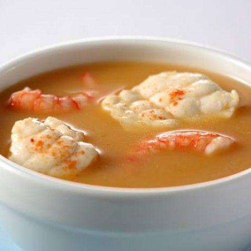 Sopa De Pescado Y Marisco Recetas Gallina Blanca Receta Recetas De Sopa De Pescado Sopa De Pescado Facil Sopa De Pescado