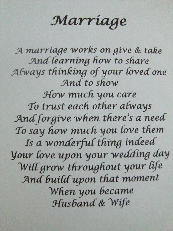 wedding poems of love - photo #6