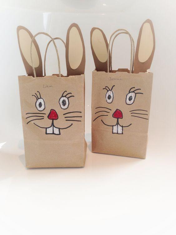 Décorer un emballage pour Pâques