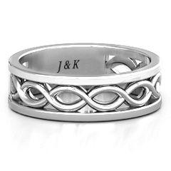 Diadem Infinity Men's Ring #jewlr