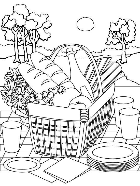 Printable Summer Coloring Pages With Images Summer Coloring