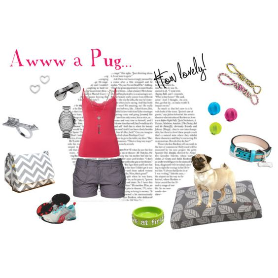 """""""Awww a Pug..."""" by rootsandrenovations on Polyvore"""