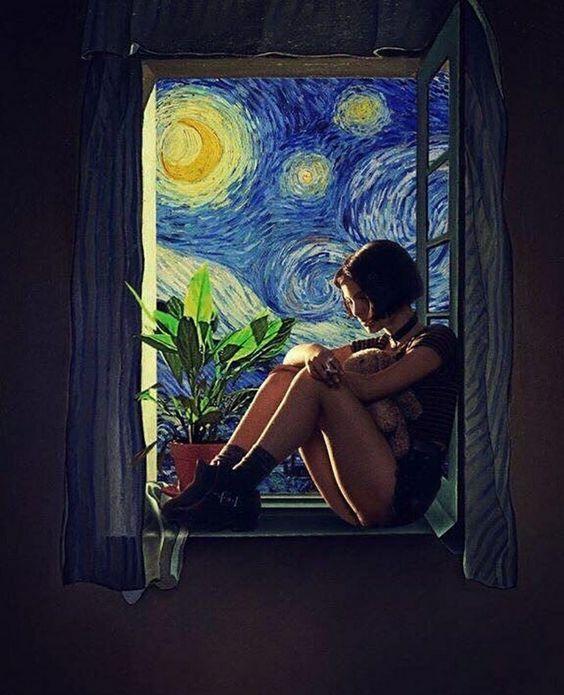 Y si me tiro por la ventana? Nadie lo notaría verdad, pues decido ahora intentaré que no me pese la conciencia mientras me subo a la repisa