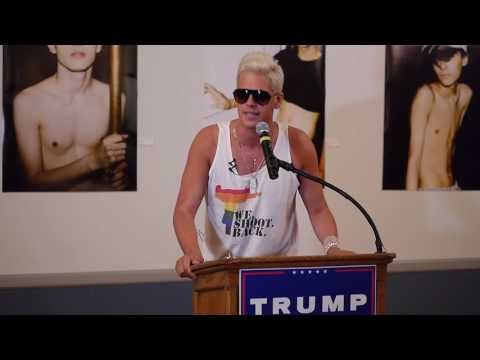 Milo Brings Down The House At Gays For Trump Party In Cleveland - YouTube