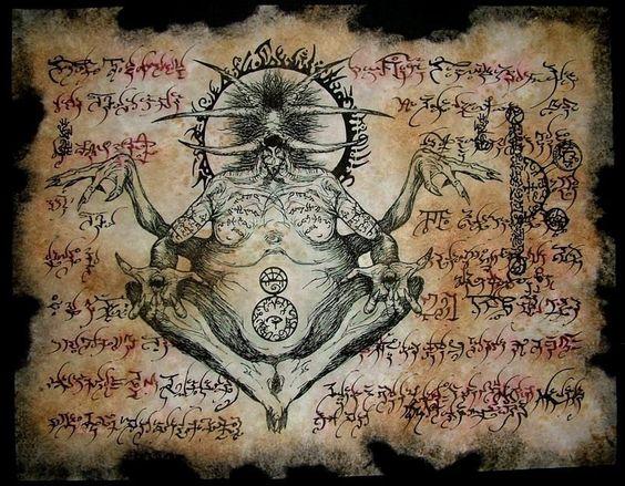 El Necronomicón,un libro salido de los infiernos 321b5cdf5e629e287b8455884f064d30