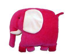 Travesseiro Elefante - boneca de pano - atendimento@bonecadepano.com.br