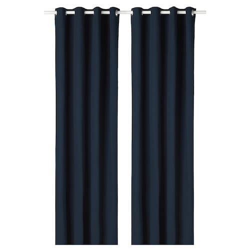 Glansnava Curtain Liners 1 Pair Light Gray 56x114 With Images Room Darkening Curtains Thick Curtains Room Darkening