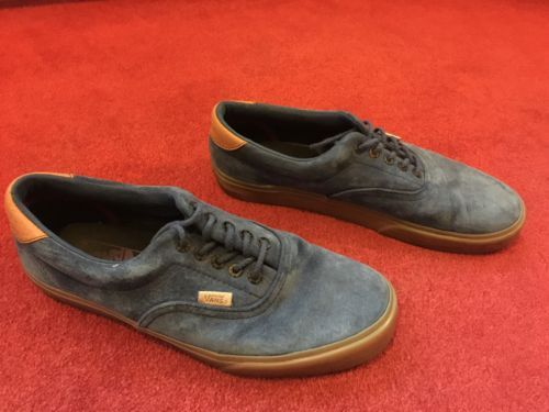 Vans Era 59 Gum Sole Blue Men's Trainers  https://t.co/btBoYt0X9a https://t.co/AWzBDOkBbY
