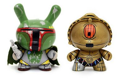#bobamakesitbetter: Dunny S, Dunny Fett, Dunnys Boing, Juguetes Star, Star Wars, C3P0 Dunnys, Wars Dunnys
