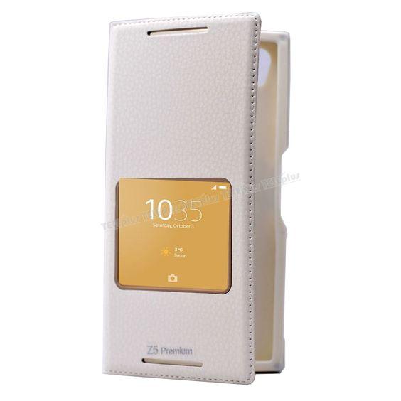 Sony Xperia Z5 Preminum Mıknatıslı Pencereli Kılıf Beyaz -  - Price : TL26.90. Buy now at http://www.teleplus.com.tr/index.php/sony-xperia-z5-preminum-miknatisli-pencereli-kilif-beyaz.html