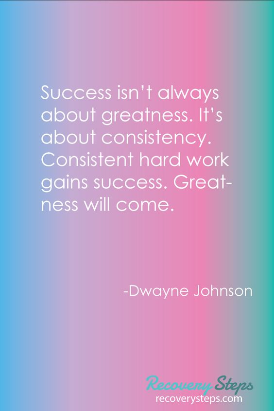 Inspirational Quotes:Success isn't always about greatness ...