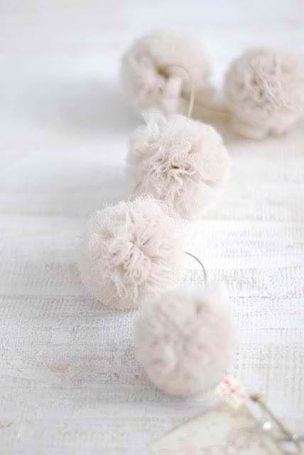 White Pompons