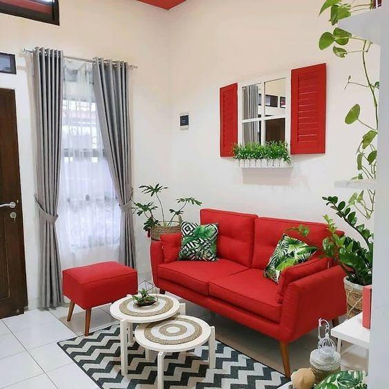 Warna Cat Ruang Tamu Ukuran Sempit 13