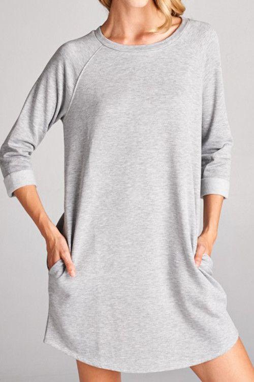 Clarissa Sweatshirt Dress