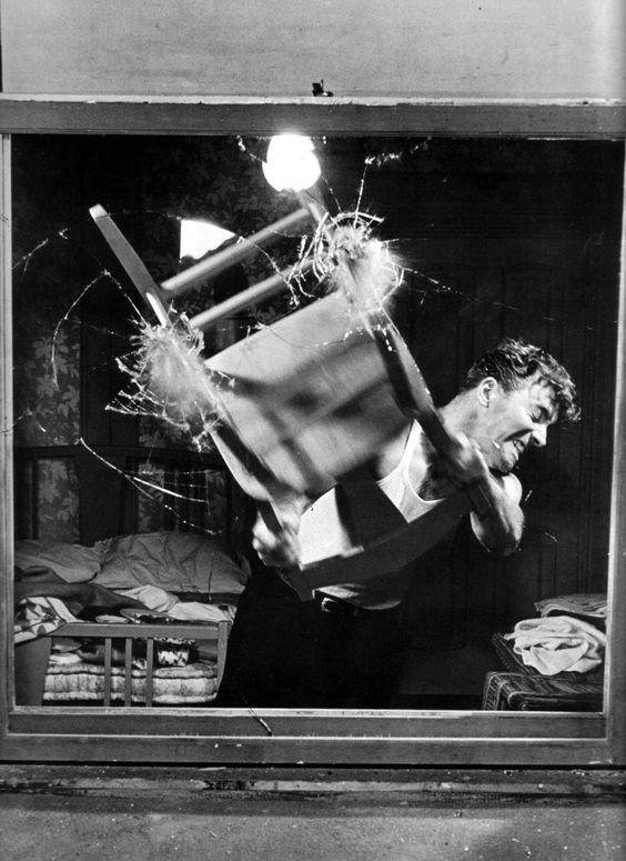Burt Lancaster in The Killers (1946) #films #movies #BurtLancaster #1946 #40s #vintage