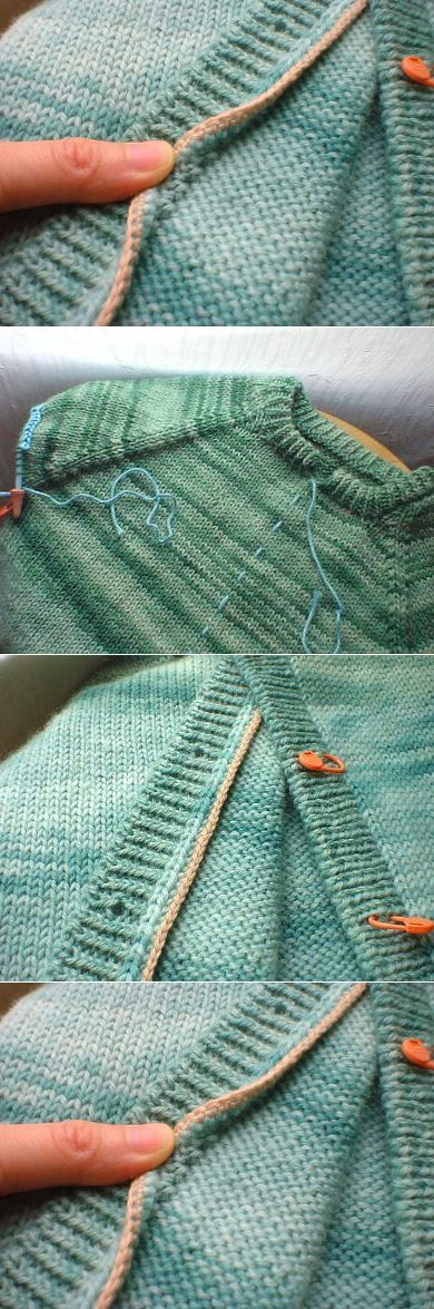 cum se poate transforma un pulover in cardigan