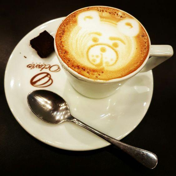 'Cappuccino Tentação' com pedaços de chocolate belga