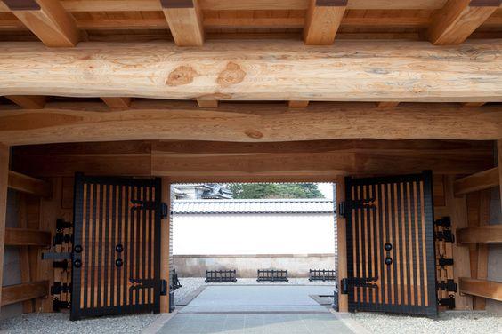 Kanazawa castle, Kawakita-mon