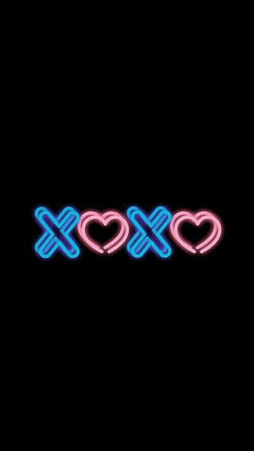 Neon Wallpaper Xoxo Neon Wallpaper Neon Iphone Wallpaper