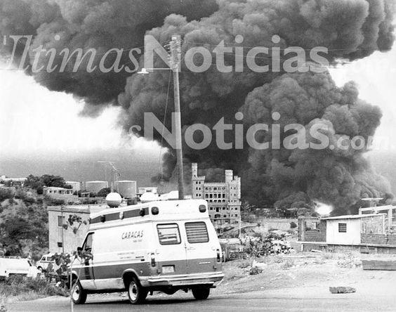 En 1982, ocurrió la tragedia o accidente de Tacoa, donde murieron 180 personas aproximadamente, a causa de la explosión de dos tanques de Combustible. Foto: AF/GÚN