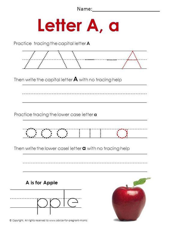 Number Names Worksheets free printables for teachers preschool : Teaching, Free worksheets and Handwriting practice free on Pinterest