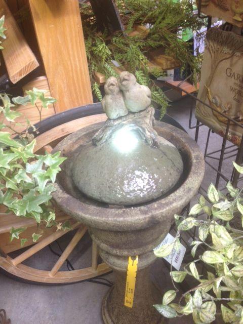 Absolutely Adorable bird fountain!