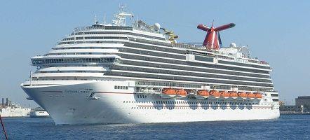 Carnival Magic - Cruise Ship Tracker / Tracking Map (Live ...