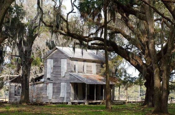 The Crum homestead in Sumter County, Florida.
