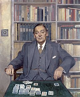 We are being made aware that the organization of society on the principle of private profit, as well as public destruction, is leading both to the deformation of humanity by unregulated industrialism, and to the exhaustion of natural resources, and that a good deal of our material progress is a progress for which succeeding generations may have to pay dearly. ― T.S. Eliot [1962 Oil Painting by Sir Gerald Kelly.National Portrait Gallery. Smithsonian Institution, Washington D.C.]: