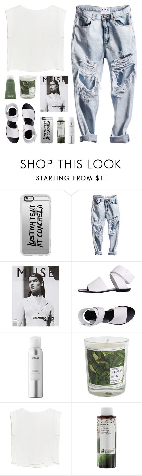 """paper ghosts"" by martosaur ❤ liked on Polyvore featuring Casetify, Proenza Schouler, Ouai, Maison La Bougie, MANGO, Korres and Aveda"
