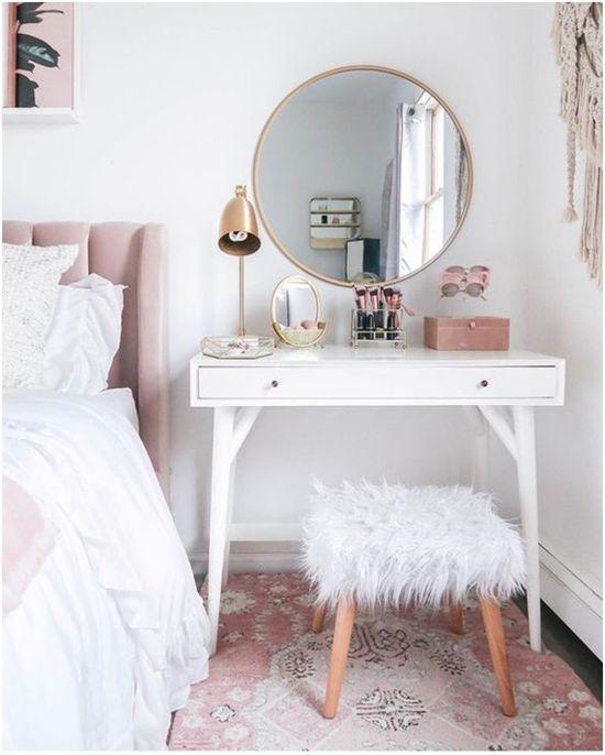 Ideias para decorar um quarto feminino #decor #decorar #decoracao #quarto #quartofeminino #decoracaofeminina #feminineroom #femininebedroom #diy #quartodecorado