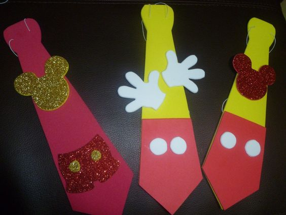 Manualidades mice and fiestas on pinterest - Manualidades minnie mouse ...