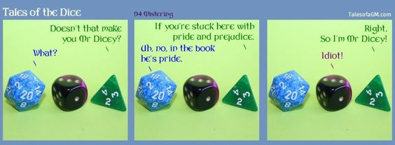 Tales of the Dice 94: Mistering » Tales of a GM