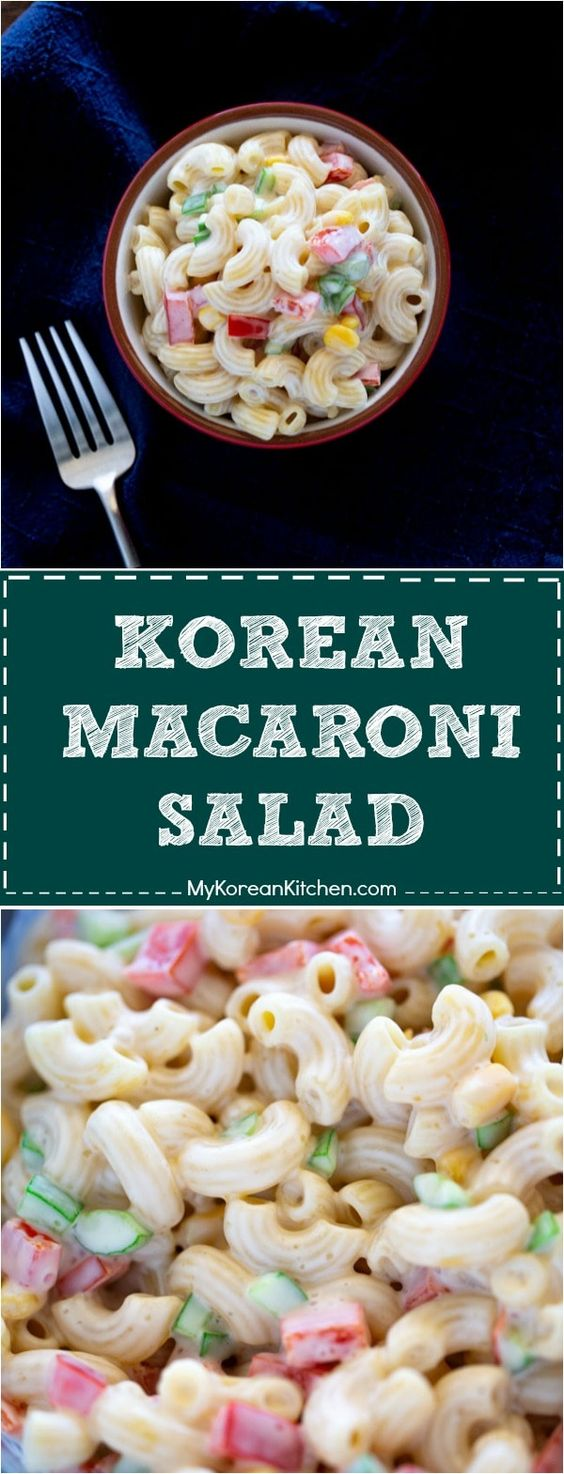 Korean Macaroni Salad