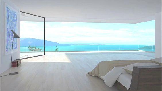 Baie vitrée en aluminium VITROCSA TH+ Turnable corner by Vitrocsa
