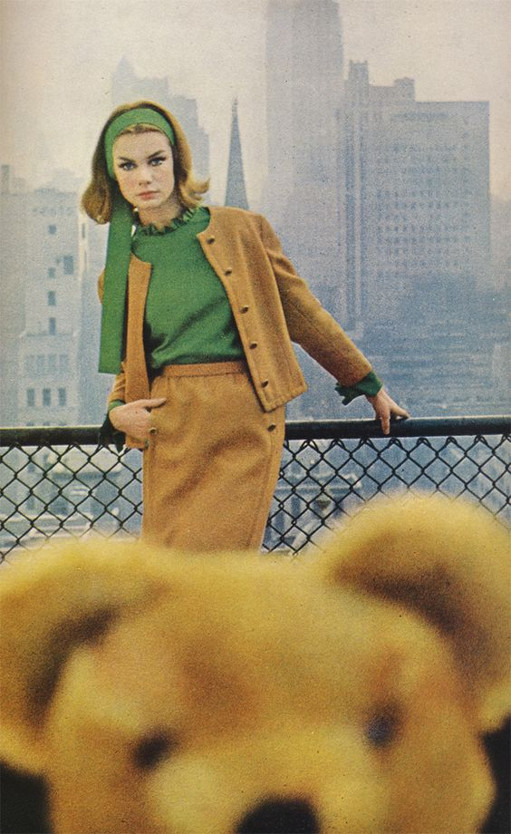 Jean Shrimpton by David Bailey, 1962.
