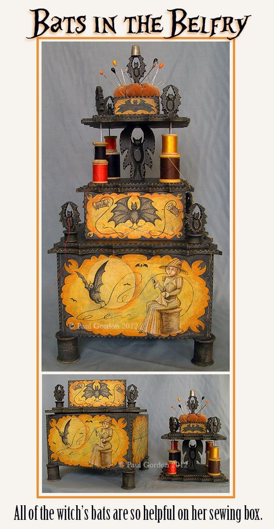 The Best We Can Do: Paul Gordon artist --Amazing sewing box!