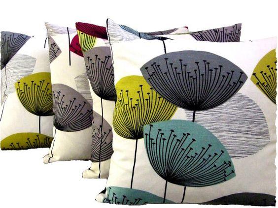 Sanderson Dandelion Clocks Fabric Cushion by Discountcushions, £20.00: Discountcushions 20, Clocks Fabric, Pillow Design, Pretty Pillows
