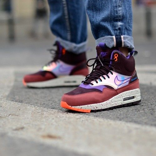 WMNS AIR MAX 1 MID SNEAKERBOOT WP 685269 600