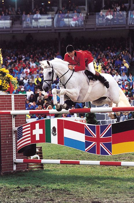 John Whitaker is the most famous equestrian rider in the world. He also has his own clothing brand. He is my idol and he has been since I started horse jumping.