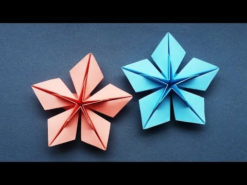 How to make: Origami Christmas Star - YouTube   360x480