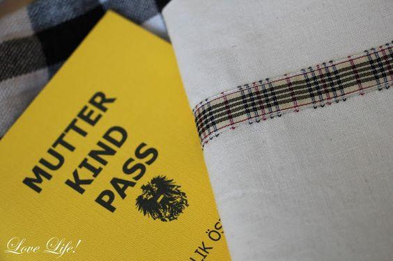 Love Life!: Mutter Kind Pass Hülle ...selbst genäht!