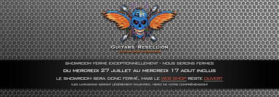Guitars Rebellion - ESP Custom Shop & Fine Gear