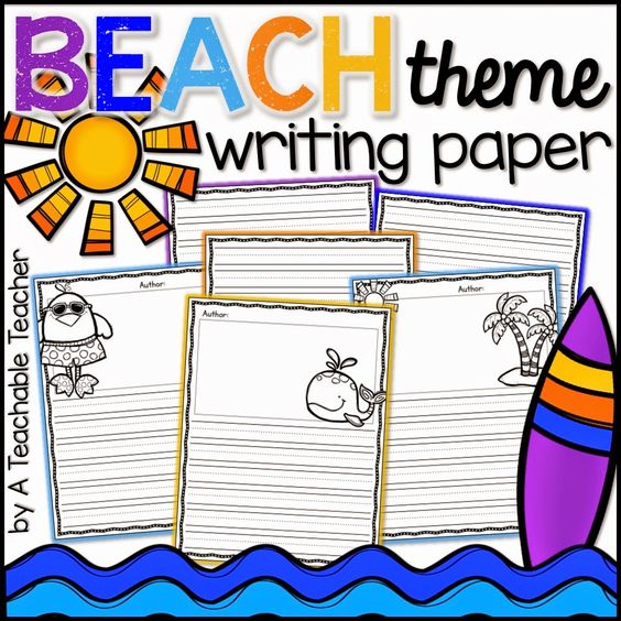 Can anyone write a descriptive essay for me? the theme is: the beach seen in summer.?
