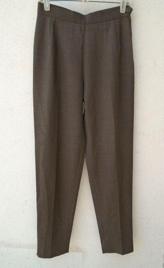 CHEAP AND CHIC BY MOSCHINO Gray Pants Size 10 #CheapAndChicByMoschino #DressPants